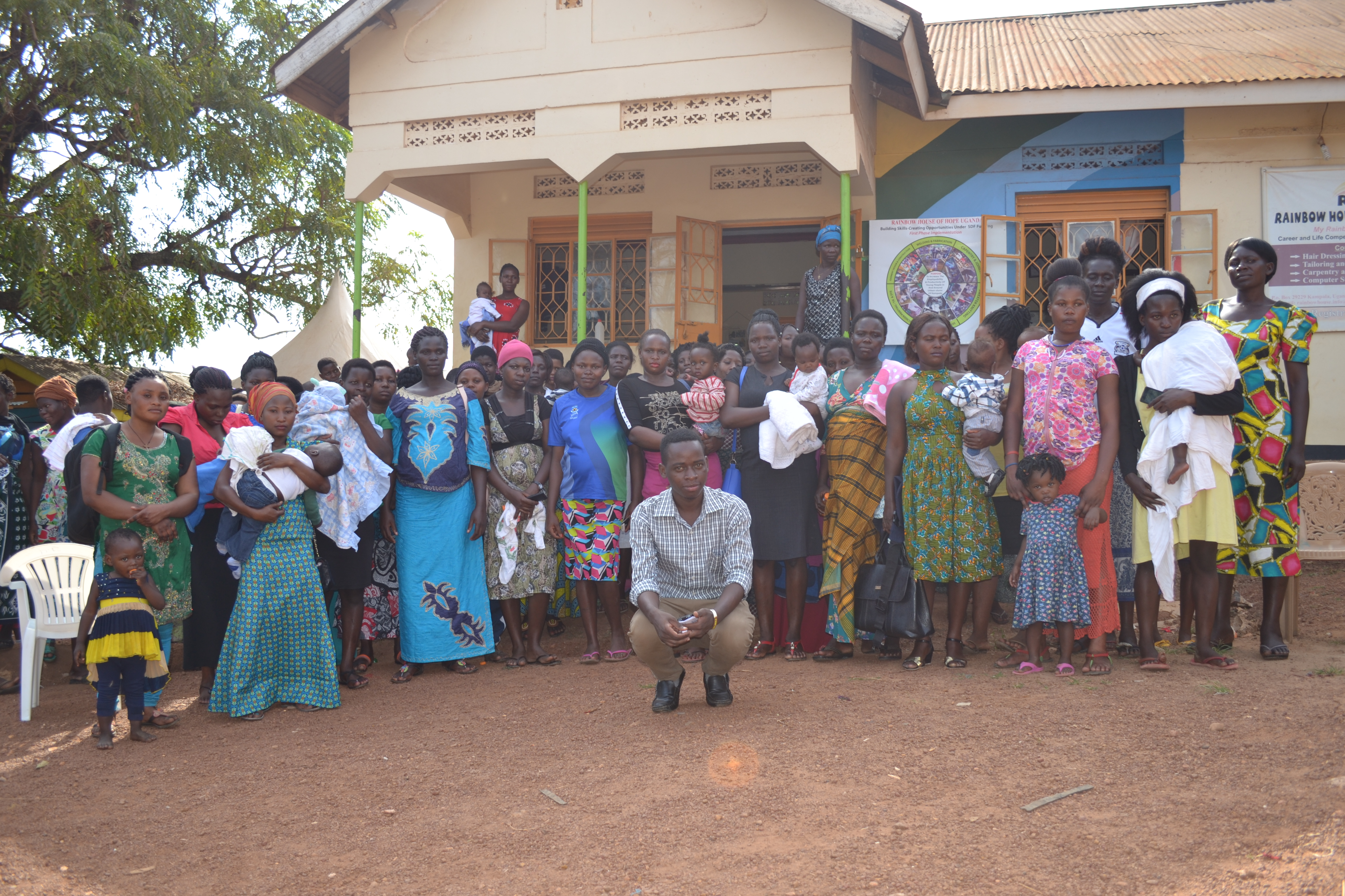 Afripads Workshop und Rainbow